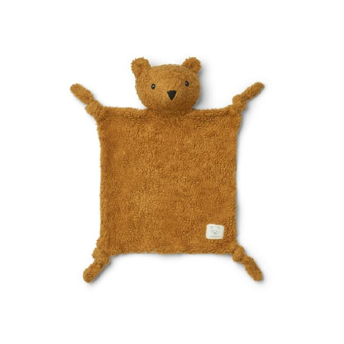 Knuffeldoekje Lotte Mr Bear Golden caramel - Liewood