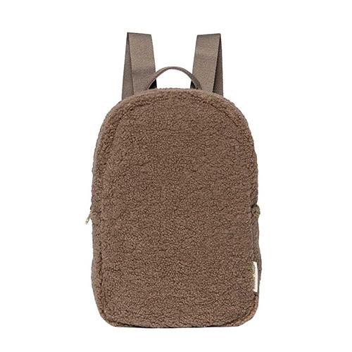 Rugzak mini-chunky teddy brown - Studio Noos