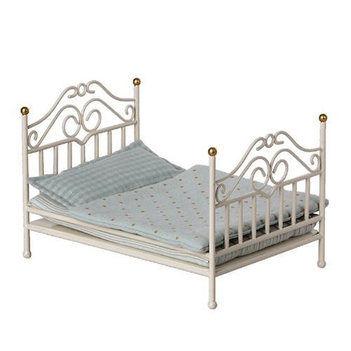 Vintage bed micro Off White - Maileg